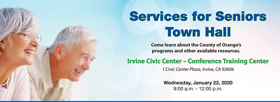 Services for Seniors Town Hall